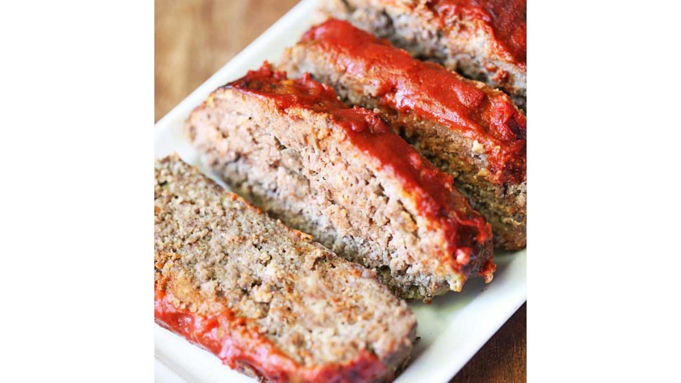 Juicy Keto Meatloaf by Healthy Recipes