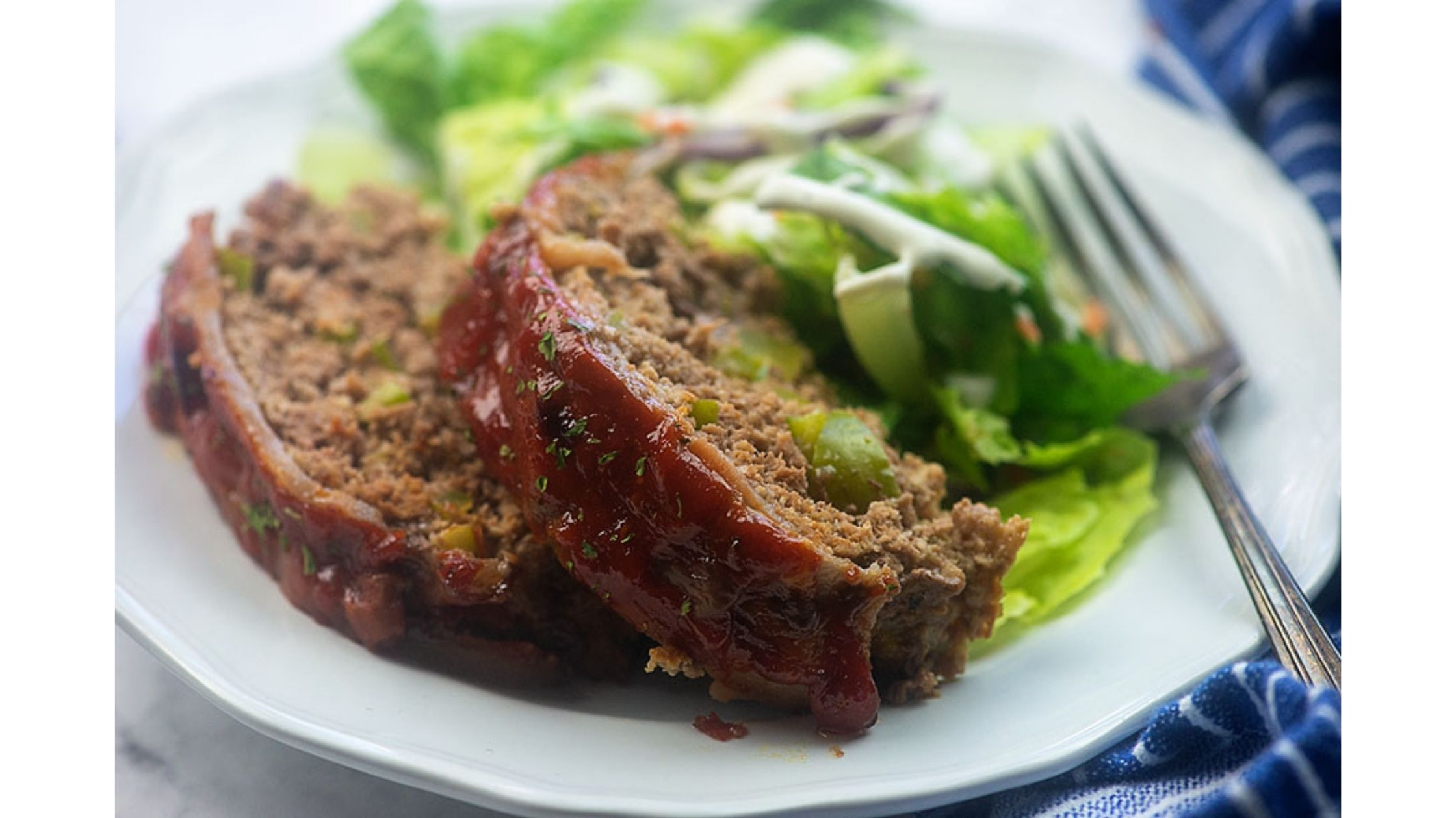 Low carb meatloaf recipe by The Low Carb Life