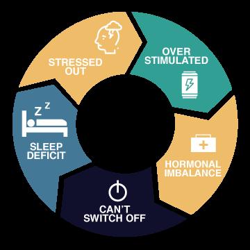 stress sleep cycle